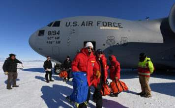 Джон Керри в Антарктиде