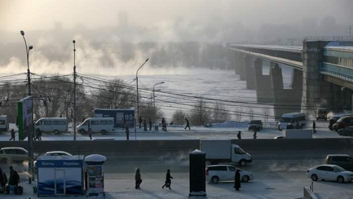морозы Сибирь