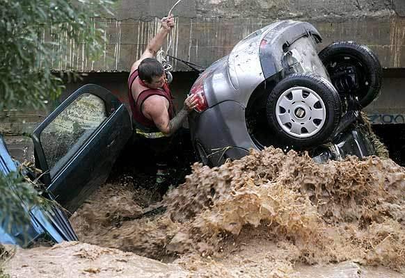 Las inundaciones Málaga