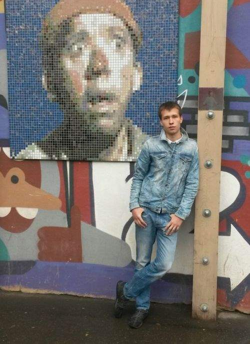 Алексей Зимин. Молодой художник.