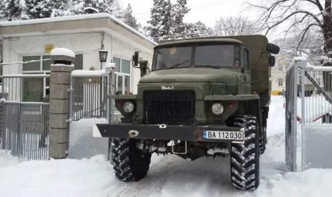 Болгария. Урал 4320.