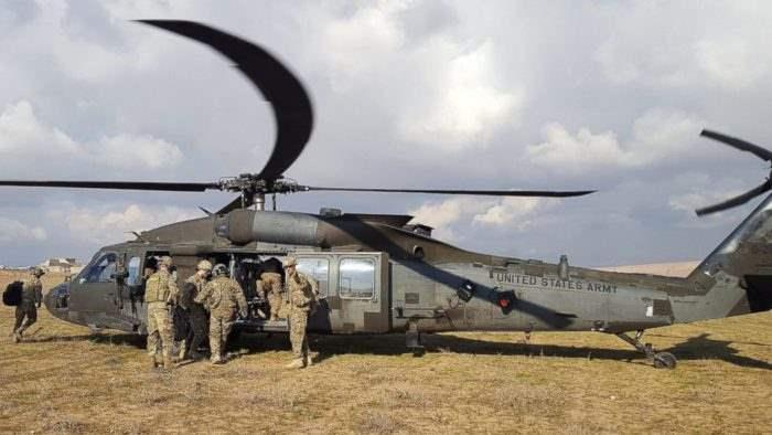 Вертолет ВВС США http://kratko-news.com