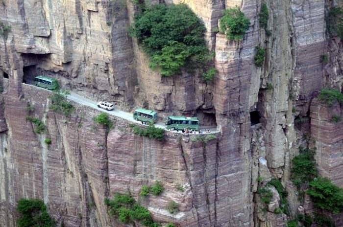 Гуолианг Туннель, Китай