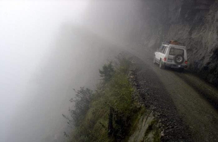 Дорога Юнгас, Боливия
