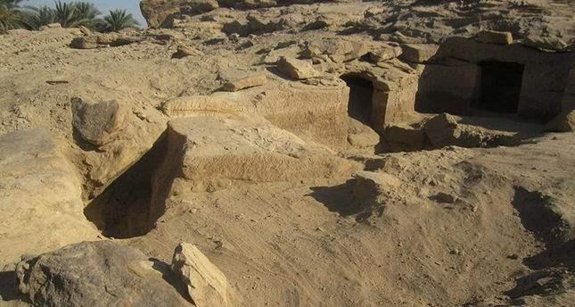 Египет. Древние захоронения.