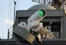 Лазерное оружие.