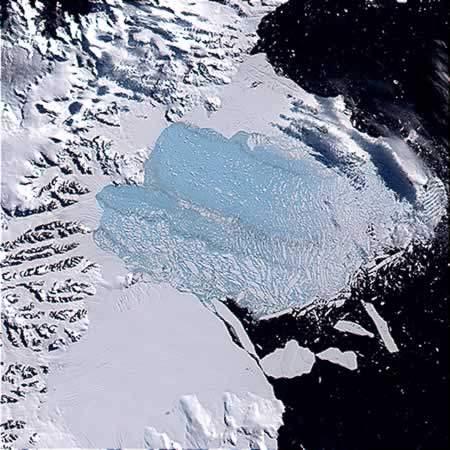Ледник Ларсена || kratko-news.com