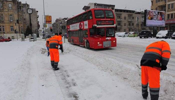 Македония морозы