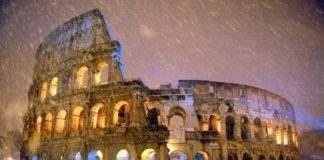 Морозы в Италии