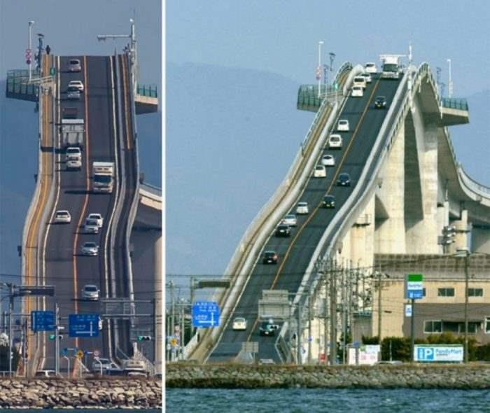 Мост Ешима Охаши, Япония