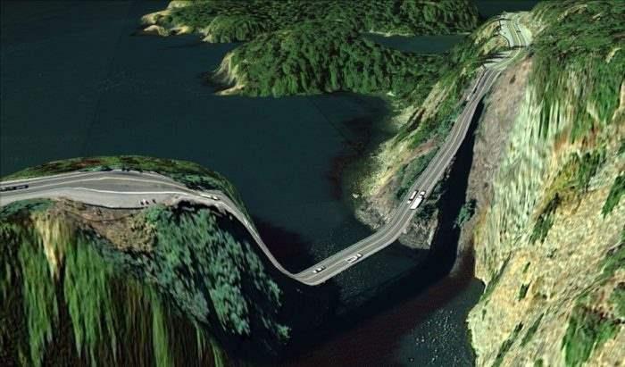 Мост в Айленд, штат Вашингтон
