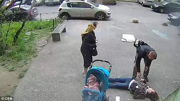 Ольга Клинцова, которой на голову упала бетонная плита, поправилась