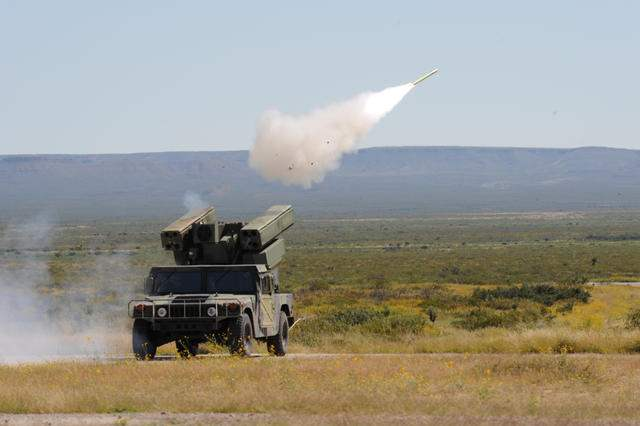 1-188th ADA Live Fire Exercise