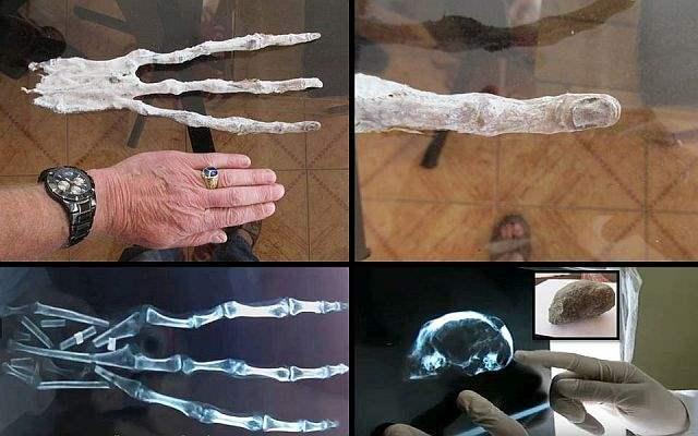 Рука пришельца Перу
