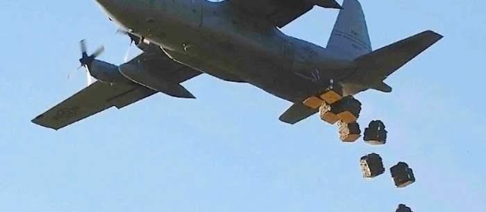 Сброс оружия оппозиционным силам в Сирии