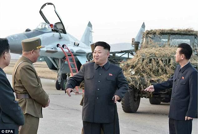 Северная Корея военные аэродромы