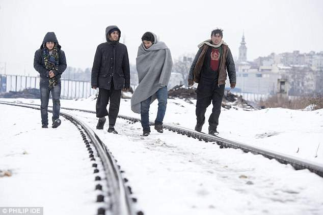Сербия холода