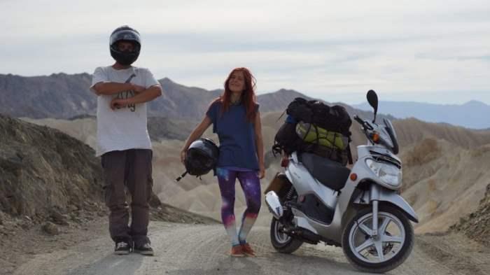 В путешествие на мотороллере