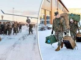 300 морских пехотинцев США