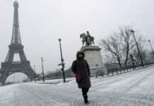 Полярный холод в Европе