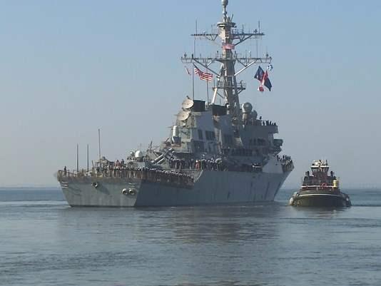 Эсминец США USS Mahan