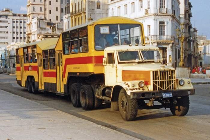 Кубинские автобусы – уникальный транспорт