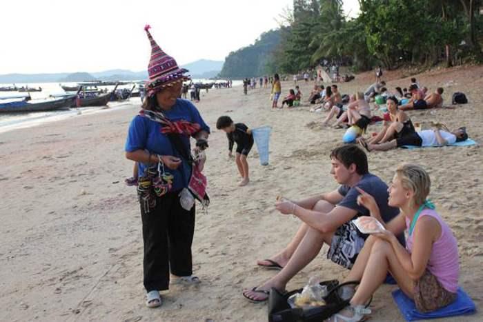 таиланд туристы