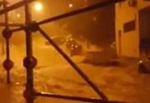 шторм в испании