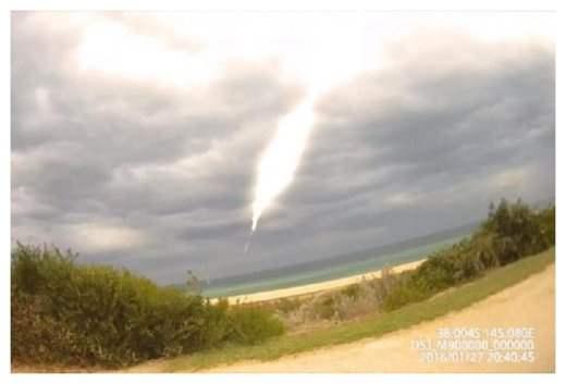 Австралия метеор