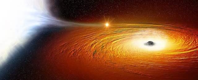 Звезда черная дыра