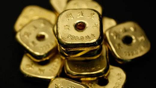 Золотой рудник Китай