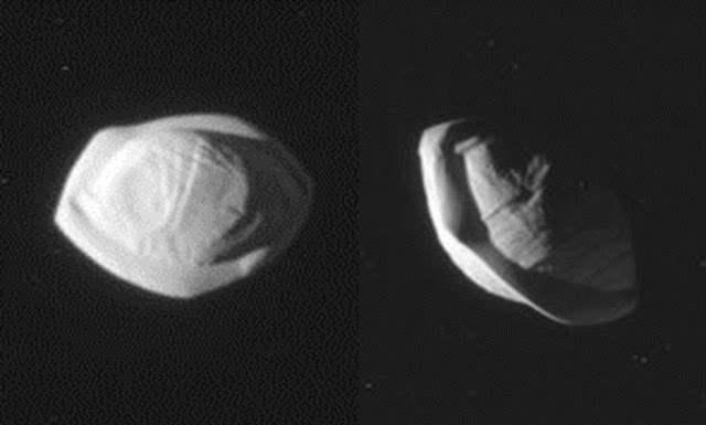 Луна Сатурна Пан