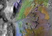 Марс Бурное прошлое