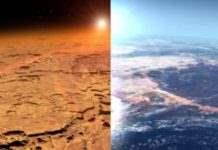 Марс влага