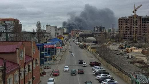 Махачкала пожар рынок