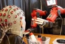 Робот сила мысли