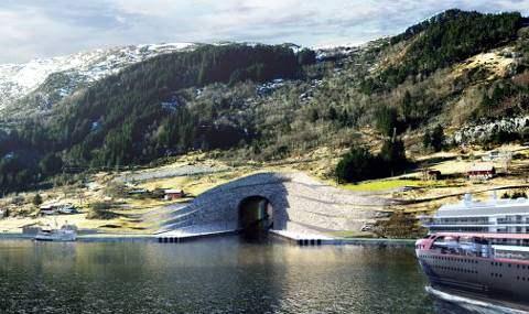 Туннели для судов Норвегия