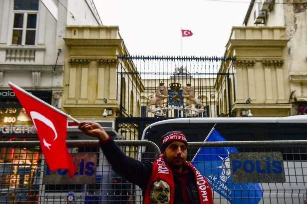 Турция протесты