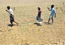 Шри Ланка засуха