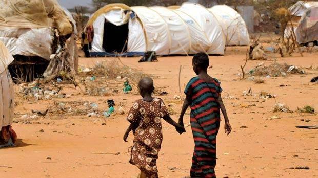 засуха сомали