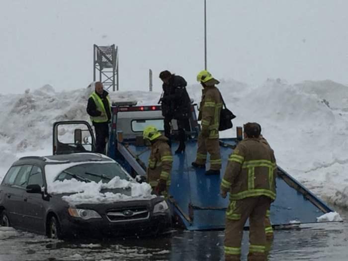снежный шторм в Канаде