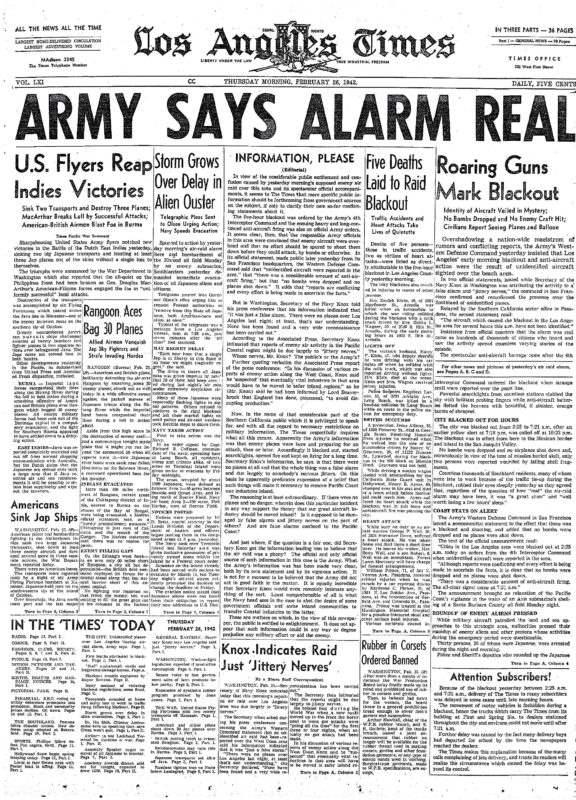 Лос-Анджелес 1942