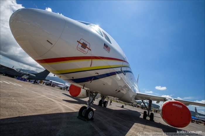 Airbus 319 ACJ.