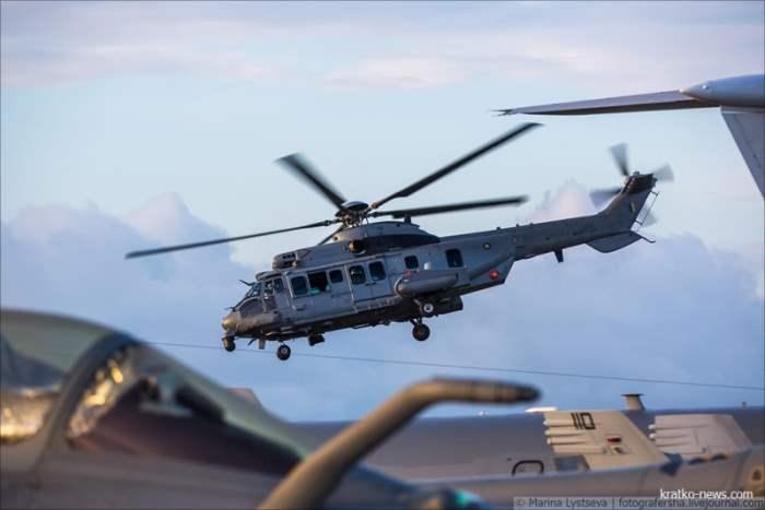 Eurocopter EC725AP Cougar.