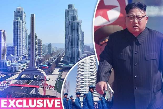 Высотки северная Корея