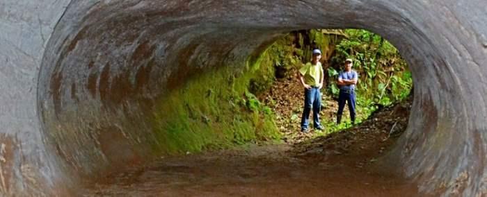 Древние туннели