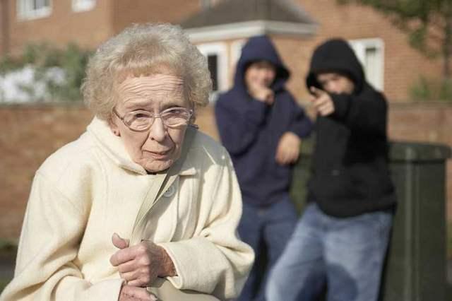 Изнасиловали пенсионерку