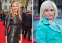 Камерон Диас и Елена Корикова, 44 года