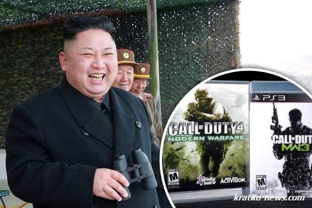 Ким Чен Ын видеоигры