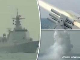 Китайский эсминец «Xining»